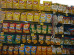 Convenience Store Chip Shelf
